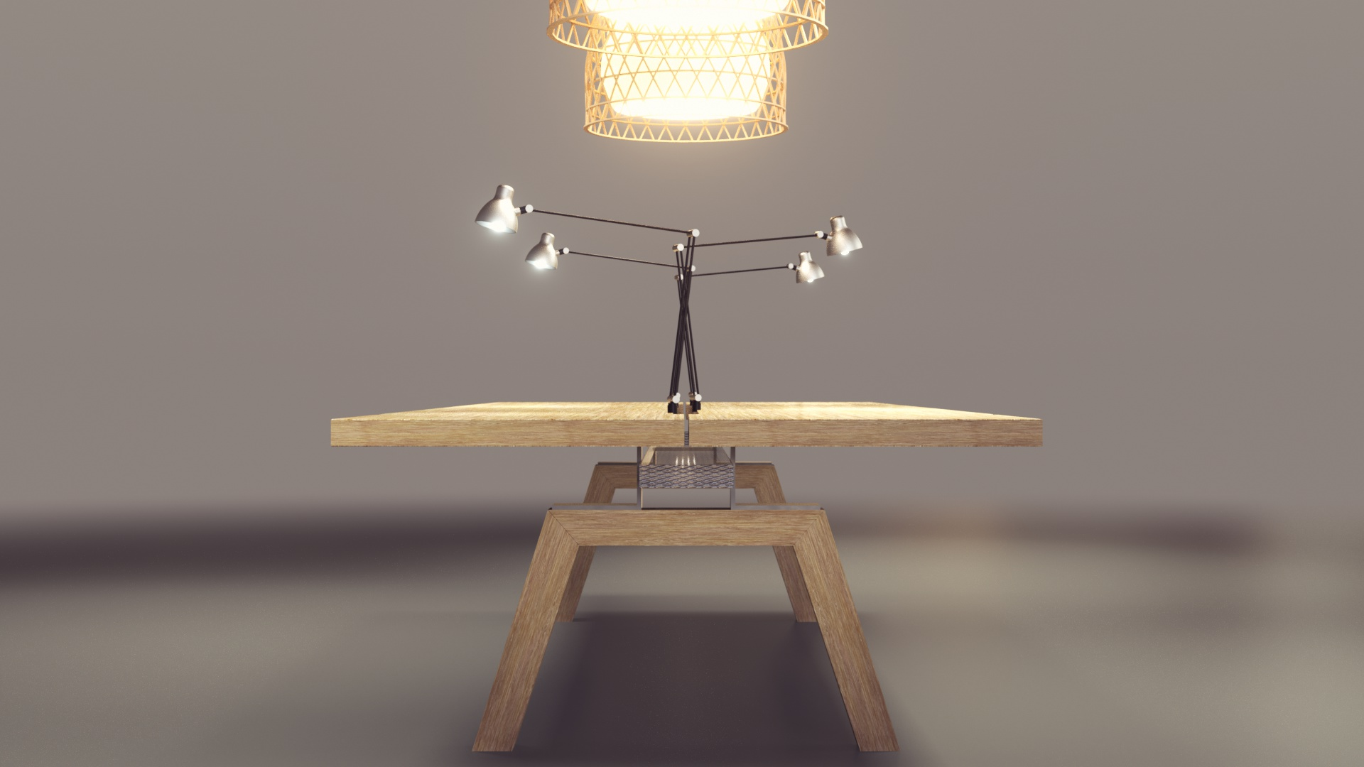 ARNO Design - Büro Erdgeschoss - Tisch